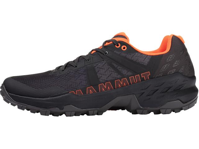 Mammut Sertig II GTX Low Shoes Men, black-vibrant orange
